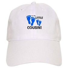 Little Cousin Baby Footprints Baseball Cap