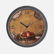 Apples Wall Clock