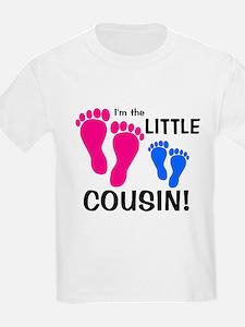Little Cousin Baby Footprints T-Shirt