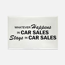 Whatever Happens - Car Sales Rectangle Magnet