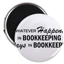 Whatever Happens - Bookkeeping Magnet
