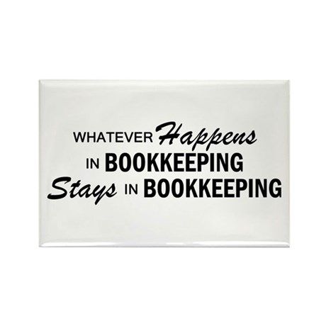 Whatever Happens - Bookkeeping Rectangle Magnet