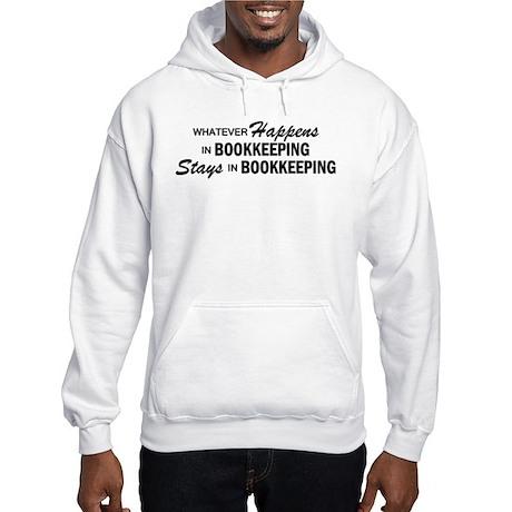 Whatever Happens - Bookkeeping Hooded Sweatshirt