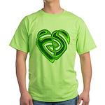 Wde Heartknot Green T-Shirt