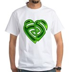 Wde Heartknot White T-Shirt