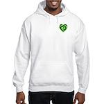 Wde Heartknot Hooded Sweatshirt