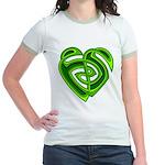 Wde Heartknot Jr. Ringer T-Shirt