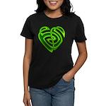 Wde Heartknot Women's Dark T-Shirt