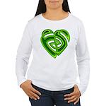 Wde Heartknot Women's Long Sleeve T-Shirt