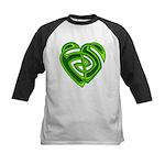Wde Heartknot Kids Baseball Jersey