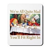 Alice in wonderland Classic Mousepad