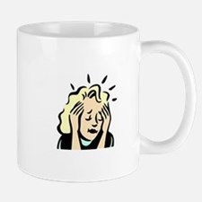 Stressed Out Woman Mug