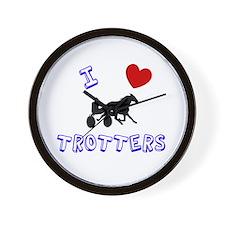 I love trotters Wall Clock