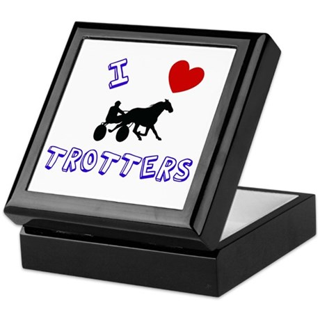 I love trotters Keepsake Box