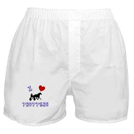 I love trotters Boxer Shorts