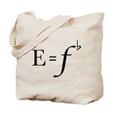Cute F Tote Bag