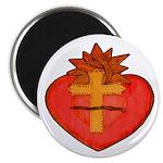Sacred Heart/Sagrado Corazon Magnet