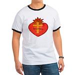 Sacred Heart/Sagrado Corazon Ringer T