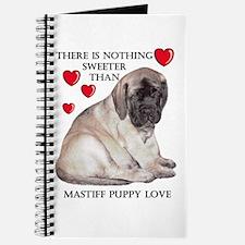 Mastiff Fawn Puppy Love Journal