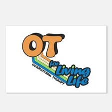OT For Living Life Postcards (Package of 8)