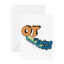 OT For Living Life Greeting Card