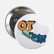 """OT For Living Life 2.25"""" Button (10 pack)"""