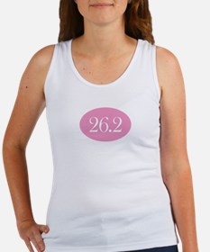 Marathon Pink Oval Women's Tank Top