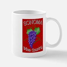 Cute Sonoma county wine country bandb Mug