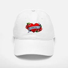 Heart & Rose - Boricua Baseball Baseball Cap