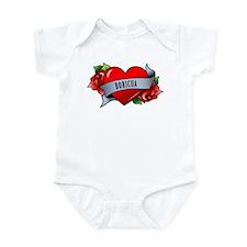 Heart & Rose - Boricua Infant Bodysuit