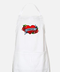 Heart & Rose - Godmother Apron