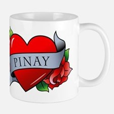 Heart & Rose - Pinay Mug
