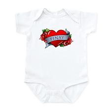 Heart & Rose - Pinay Infant Bodysuit