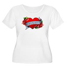 Heart & Rose - Pinay T-Shirt