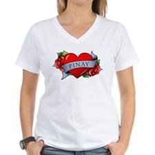Heart & Rose - Pinay Shirt