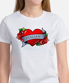 Heart & Rose - Women's T-Shirt