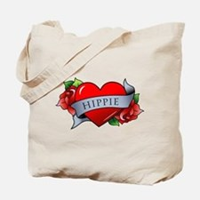Heart & Rose - Hippie Tote Bag