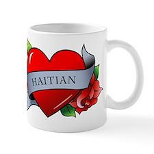 Heart & Rose - Haitian Mug