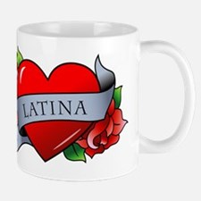 Heart & Rose - Latina Mug