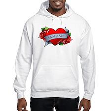 Heart & Rose - Samoan Hoodie