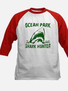 Shark Hunter Kids Baseball Jersey