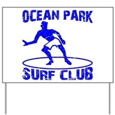 Surf Club Yard Sign