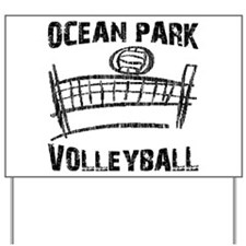 Volleyball Yard Sign
