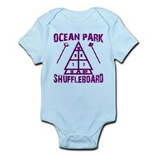 Shuffleboard Infant Bodysuit