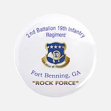 """2nd Bn 19th Inf Reg 3.5"""" Button"""