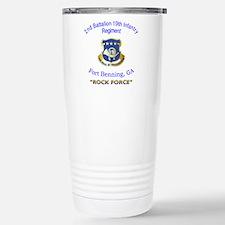 2nd Bn 19th Inf Reg Travel Mug