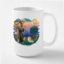 St Francis #2/ Pomeranian (r) Mug