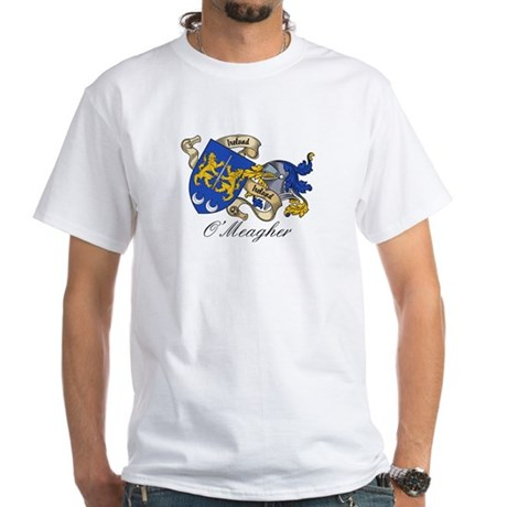 O'Meagher Coat of Arms White T-Shirt