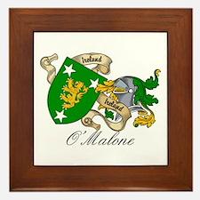 O'Malone Coat of Arms Framed Tile