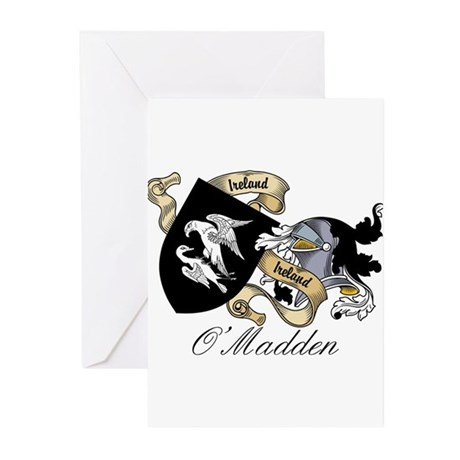 O'Madden Coat of Arms Greeting Cards (Pk of 10